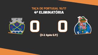 Taça de Portugal (4ª Eliminatória): Resumo GD Chaves 0-0 FC Porto