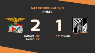 Taça de Portugal (Final): Resumo SL Benfica 2-1 Vitória SC
