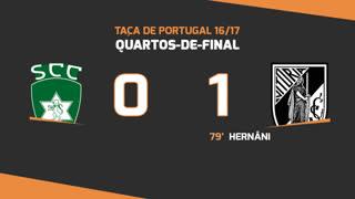 Taça de Portugal (Quartos de Final): Resumo SC Covilhã 0-1 Vitória SC