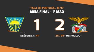 Taça de Portugal (Meias-Finais): Resumo Estoril Praia 1-2 SL Benfica