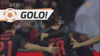GOLO! SL Benfica, F. Cervi aos 2', SL Benfica 1-0 Marítimo M.