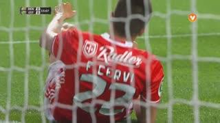 SL Benfica, Jogada, F. Cervi aos 15'