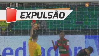 Marítimo M., Expulsão, Samuel Santos aos 69'