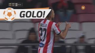 GOLO! Leixões SC, Rafael Porcellis aos 44', SL Benfica 3-1 Leixões SC
