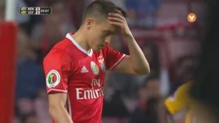 SL Benfica, Jogada, F. Cervi aos 5'
