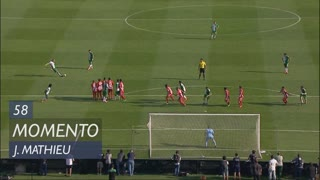 Sporting CP, Jogada, J. Mathieu aos 58'