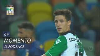 Sporting CP, Jogada, Daniel Podence aos 64'