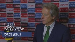 Taça de Portugal (Meias-Finais - 2ª Mão): Flash interview Jorge Jesus