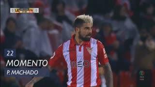 CD Aves, Jogada, Paulo Machado aos 22'