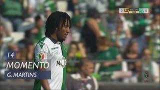 Sporting CP, Jogada, Gelson Martins aos 14'