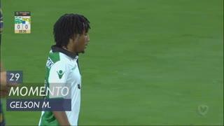 Sporting CP, Jogada, Gelson Martins aos 29'
