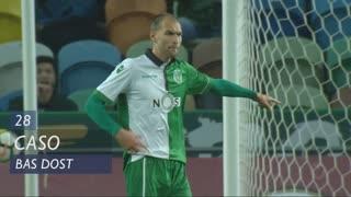 Sporting CP, Caso, Bas Dost aos 28'