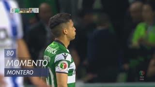 Sporting CP, Jogada, Montero aos 80'