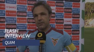 Taça de Portugal (Final): Flash interview Quim