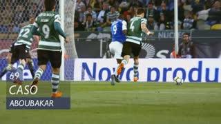 FC Porto, Caso, Aboubakar aos 69'
