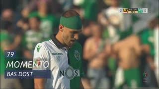 Sporting CP, Jogada, Bas Dost aos 79'