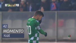 Moreirense FC, Jogada, Tozé aos 42'