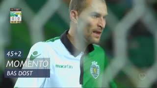 Sporting CP, Jogada, Bas Dost aos 45'+2'