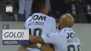 GOLO! Vitória SC, Heldon aos 3', Vitória SC 1-0 CD Feirense