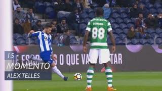 FC Porto, Jogada, Alex Telles aos 15'