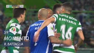 Sporting CP, Jogada, Rodrigo Battaglia aos 59'