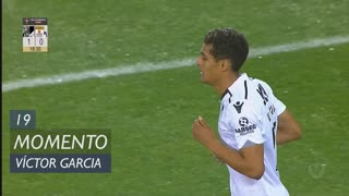 Vitória SC, Jogada, Víctor García aos 19'