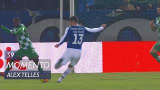 FC Porto, Jogada, Alex Telles aos 59'