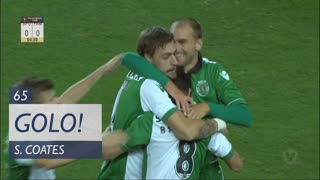 GOLO! Sporting CP, S. Coates aos 65', Sporting CP 1-0 FC Famalicão