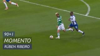 Sporting CP, Jogada, Rúben Ribeiro aos 90'+1'