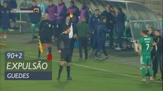 Rio Ave FC, Expulsão, Guedes aos 90'+2'