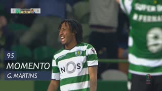 Sporting CP, Jogada, Gelson Martins aos 95'