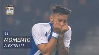 FC Porto, Jogada, Alex Telles aos 41'