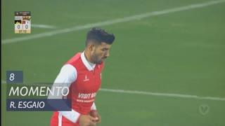 SC Braga, Jogada, Ricardo Esgaio aos 8'
