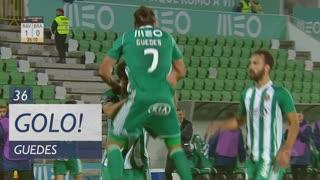 GOLO! Rio Ave FC, Guedes aos 36', Rio Ave FC 1-0 SC Braga