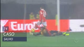 SL Benfica, Caso, Salvio aos 74'