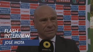 Taça de Portugal (Final): Flash interview José Mota