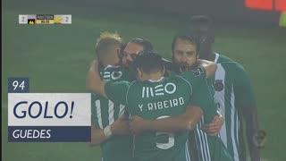 GOLO! Rio Ave FC, Guedes aos 94', Rio Ave FC 3-2 SL Benfica