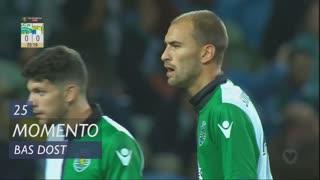 Sporting CP, Jogada, Bas Dost aos 25'