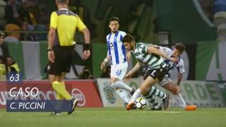 Sporting CP, Caso, C. Piccini aos 63'