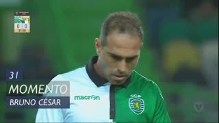 Sporting CP, Jogada, Bruno César aos 31'