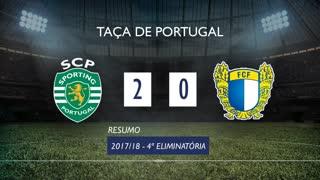 Taça de Portugal (4ª Eliminatória): Resumo Sporting CP 2-0 FC Famalicão