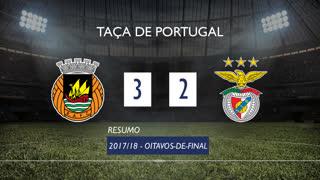 Taça de Portugal (Oitavos de Final): Resumo Rio Ave FC 3-2 SL Benfica