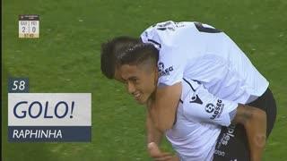 GOLO! Vitória SC, Raphinha aos 58', Vitória SC 2-0 CD Feirense