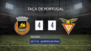 Taça de Portugal (Quartos de Final): Resumo Rio Ave FC 4-4 CD Aves