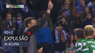 Sporting CP, Expulsão, M. Acuña aos 90'+2'