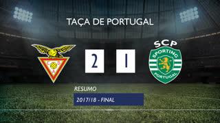 Taça de Portugal (Final): Resumo CD Aves 2-1 Sporting CP