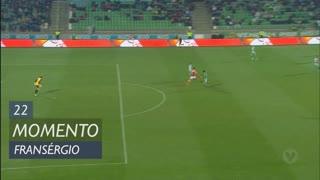 SC Braga, Jogada, Fransérgio aos 22'