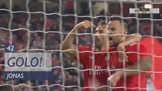 GOLO! SL Benfica, Jonas aos 42', SL Benfica 1-1 FC Arouca
