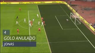 SL Benfica, Golo Anulado, Jonas aos 4'