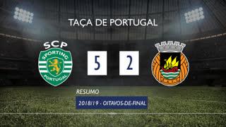 Taça de Portugal (Oitavos de Final): Resumo Sporting CP 5-2 Rio Ave FC